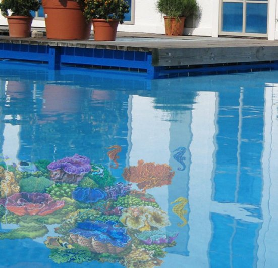 4 Options for Decorating The Walls of Your Swimming Pool ...