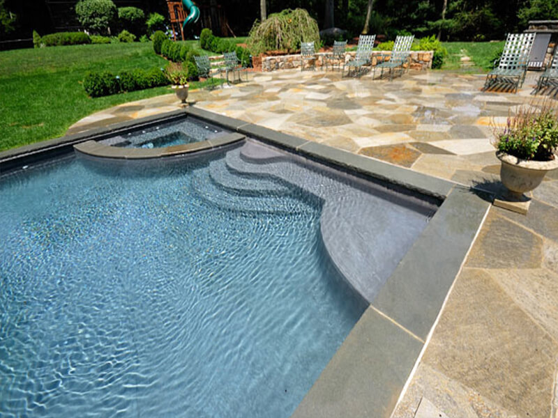 swimming pool area decor choosing the best coping tiles latest beautiful swimming pool mosaic